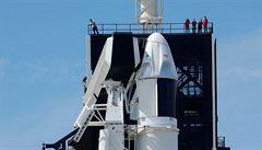 K ISS odstartovala kosmická loď Crew Dragon, zatím bez posádky