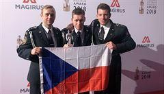 Pražští hasiči získali mezinárodního stříbrného 'hasičského Oscara' za zásah v hotelu Eurostars