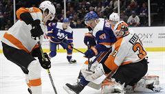 NHL: Philadelphia si poradila i bez zraněného Voráčka
