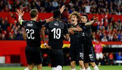 Sevilla - Slavia 2:2. Sešívaní přestáli španělskou smršť a vezou dobrý výsledek do odvety