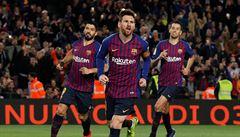 Messi brankou řídil obrat Barcelony, ta se přiblížila k titulu