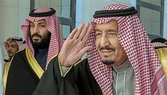 Saúdská hra o trůny. Král z obav ze syna vyměnil ochranku během cesty do Egypta