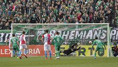 Slavia za pomoci videa zvládla pražské derby s Bohemians, Teplice zdolaly Opavu