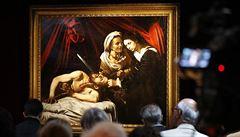 ,Nesnesitelně' brutální Caravaggiův obraz může vynést nálezci 4 miliardy. V létě půjde do aukce