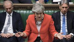 'Pojďme se dohodnout.' Mayová vyzvala Corbyna, aby přistoupil na brexitový kompromis