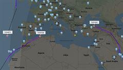 Dva boeingy Smartwings mířily do Prahy. Po zákazu bezradně kroužily nad mořem