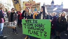 Čeští studenti se kvůli klimatu v květnu vrátí do ulic. Chystají dvě stávky, druhá bude mezinárodní