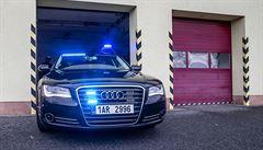Policie má 'supervůz'. Speciální Audi odhalí kradené auto za sekundu, dožene ho díky silnému motoru
