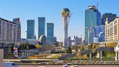 'Zánik' Astany po odchodu Nazarbajeva se obyvatelům nelíbí. Policie zatýkala kazašské demonstranty