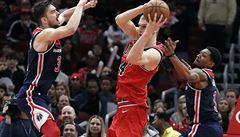 Ani Satoranského smeče Washingtonu k výhřev NBA nepomohly