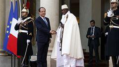 Prezident Gambie chce bojovat s homosexuály jako s moskyty