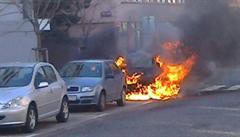 V Praze a středních Čechách způsobil nejméně 31 požárů. Nyní policie žháře zadržela