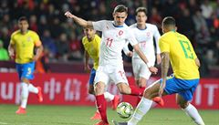 Češi ztratili slibně rozehrané utkání s Brazílií, Kanárci zvítězili 3:1
