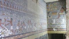 Čeští egyptologové objevili hrobku hodnostáře a dosud neznámou královnu