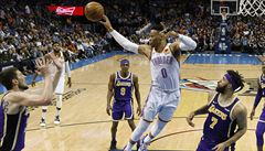 To se nikomu v NBA nepovedlo přes 50 let. Westbrook dosáhl na unikátní triple double