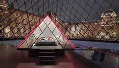 Louvre láká na drink u Mony Lisy a stylový spánek ve skleněné pyramidě