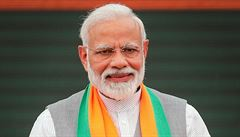 Indický premiér přistoupil k radikálnímu řešení. Vyhlásil tři týdny karantény pro 1,3 miliardy obyvatel země