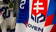 Slováci na dresech pro MS inovovali státní znak. Kvůli kritice fanoušků politici nové dresy zakázali
