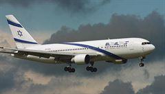 Izraelská civilní letadla ochrání laserový systém