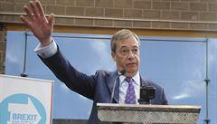 Nigel Farage zahájil před volbami do europarlamentu kampaň své nové Strany pro brexit
