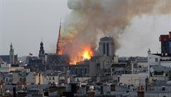 Ekologové podali trestní oznámení kvůli požáru Notre Dame. Úřady prý neinformovaly o nebezpečí