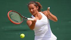 Neuvěřitelné. Britská tenistka vyhrála zápas, v němž prohrávala 0:6, 0:5 a 30:40