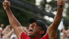 Fantastické 'zmrtvýchvstání'. Tiger Woods po čtrnácti letech ovládl Masters
