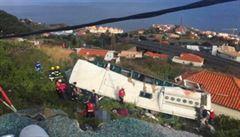 Na Madeiře havaroval autobus s německými turisty. Nehoda si vyžádala 29 mrtvých