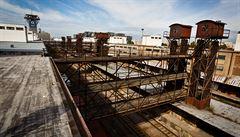 Nákladové nádraží Žižkov zásobovalo Prahu potravinami a uhlím