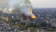Přislíbily miliardy na opravu katedrály Notre-Dame, velké francouzské firmy teď s dary otálejí