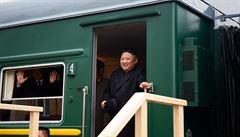 Kim Čong-un dorazil do Vladivostoku. Očekává úspěšné jednání s Putinem