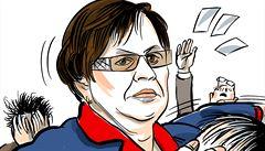 Marie Benešová: Nejostřeji sledovaný člen vlády