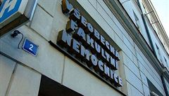 Vláda schválila investici 10 miliard korun pro sedm nemocnic