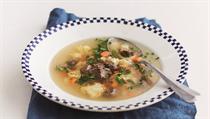Chuť na polévku z hovězí oháňky prý Jan Werich dostal, když ležel v nemocnici...