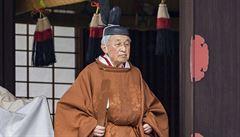 Když odchází potomek bohů. Císaři Akihitovi se podařilo stát se symbolem míru