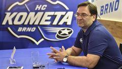 Kometa má nového trenéra, Fiala podepsal smlouvu na dva roky. Z Vítkovic přišel útočník Lev