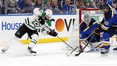NHL: Carolina porazila New York Islanders a postoupila do finále, Dallas skóroval nad St. Louis
