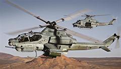 Americké ministerstvo schválilo prodej 16 vojenských vrtulníků do Česka. Mají stát 23 miliard
