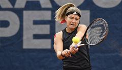 Muchová nestačila ve finále na Švýcarku, s kariérou se rozloučila Šafářová