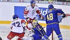 Češi přehráli Švédy 3:0 a stále mohou opanovat turnaj. Opět se prosazovali hráči z NHL