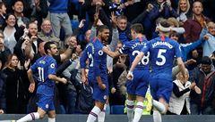 Chelsea se dostala před Tottenham na třetí místo, United si nezahrají Ligu mistrů