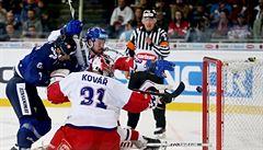 Nesehraní Češi podlehli Finům 2:3, prosadili se hráči z NHL