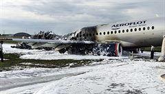 Zpráva o důvodech květnové havárie Suchoje v Moskvě, vyšetřovatelé neviní piloty letounu