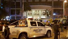 Ozbrojenci zaútočili v egyptském letovisku. Jeden pachatel je mrtvý