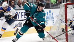 NHL: Hokejisté St. Louis srovnali sérii se San Jose, Hertl nebodoval