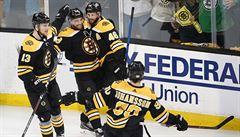 Boston dělí jedna výhra od postupu do finále NHL