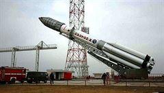 Ruská raketa vynášející mexickou družici havarovala 9 minut po startu