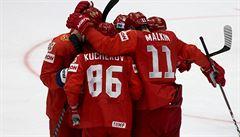 Rusko si na úvod turnaje poradilo s Norskem. V přesilovkách řádili Kučerov s Dadonovem