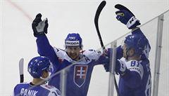 Slováci nejsou z průběhu MS zklamaní. V pondělním zápase s Kanadou by chtěli překvapit