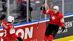 Švýcaři zůstávají neporaženi, Lotyši přestříleli na MS Itálii 65:15, přesto vyhráli 'jen' 3:0